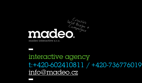 madeo webdesign: Creative Web Design + Campaigns, Social Media, iPhone+iPad Applications, Rich Media Applications